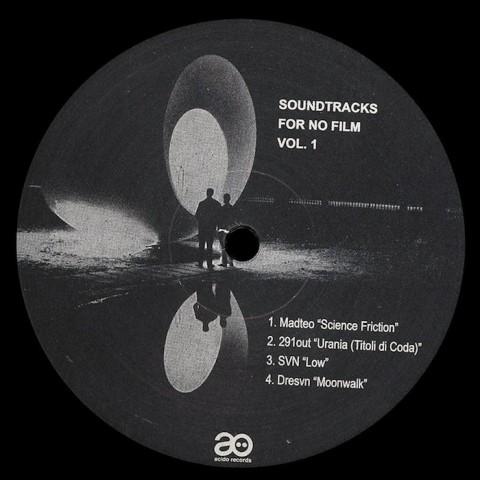Soundtracks for No Film vol.1 A/V w/291out